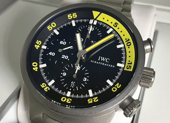 IWC Aquatimer Split Second Chronograph Titanium ref 3723 Watch