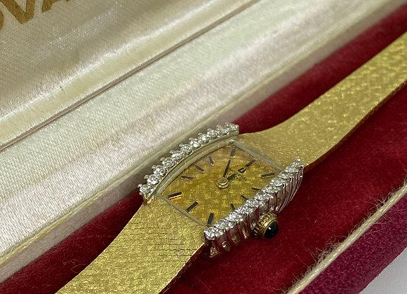 14K Yellow Gold & Diamond Universal Geneve Ladies' Dress Watch