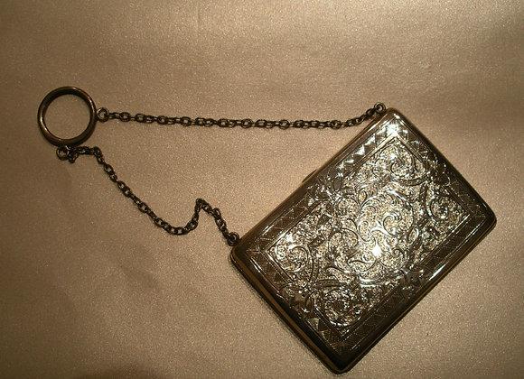 Sterling Silver 925 Antique Victorian Purse