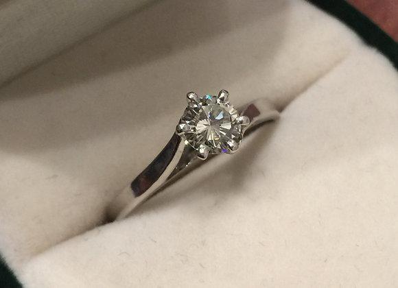 0.40ct Diamond Solitaire Ring