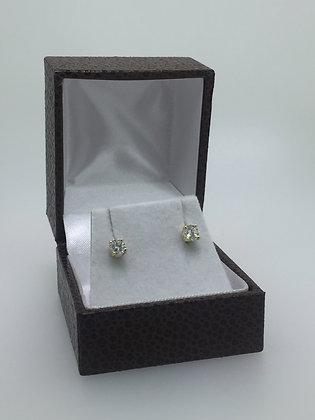 18K Yellow Gold & 0.25ct Diamond Stud Earrings