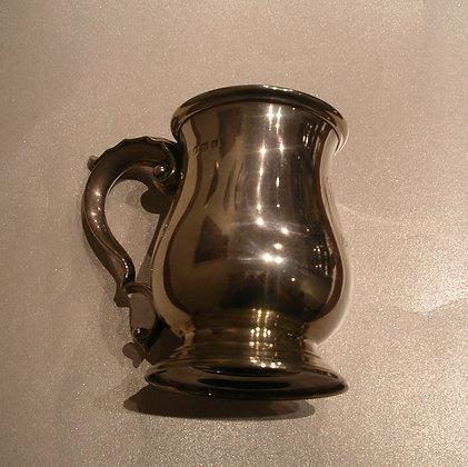 Sterling Silver Vintage Milk Jug. England.