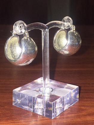 925 Sterling Silver Hoop Classical Earrings