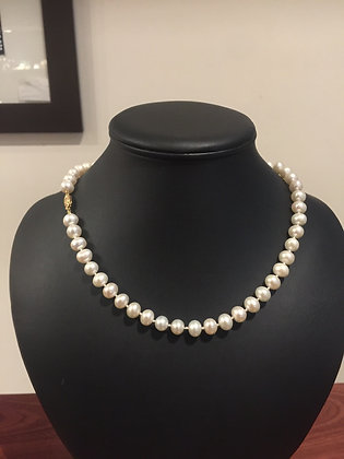 47.5cm Fresh Water Pearl Necklace