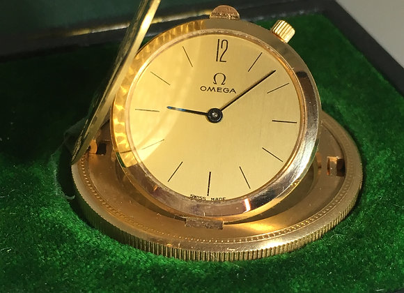 18K Gold OMEGA Coin Watch