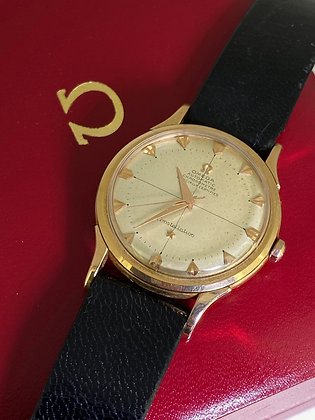 Omega Constellation 18K Rose Gold ref 2648/SC Watch, Crosshair Dial, cal 354.