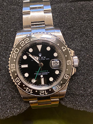 Rolex GMT-Master II 40mm Automatic Men's Watch  ref 116710,  circa 2008