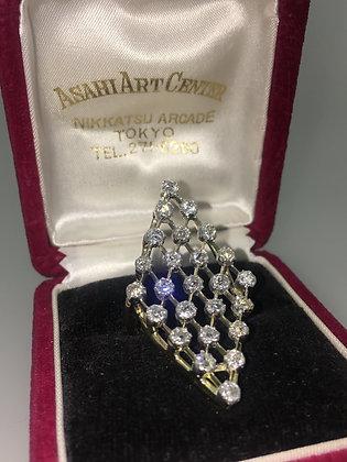 18K Yellow Gold & 1.33ct Old-Cut Diamond Handmade Ring
