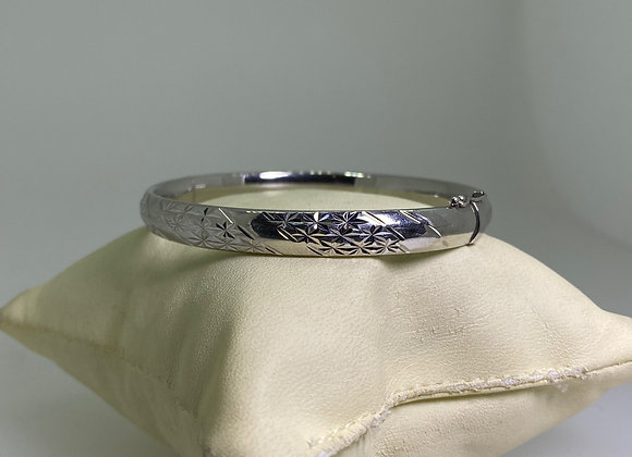 Platinum 950 Bangle. Japan, circa 1990's.