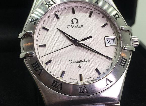 Omega Constellation S/Steel Quartz Gents' Wristwatch