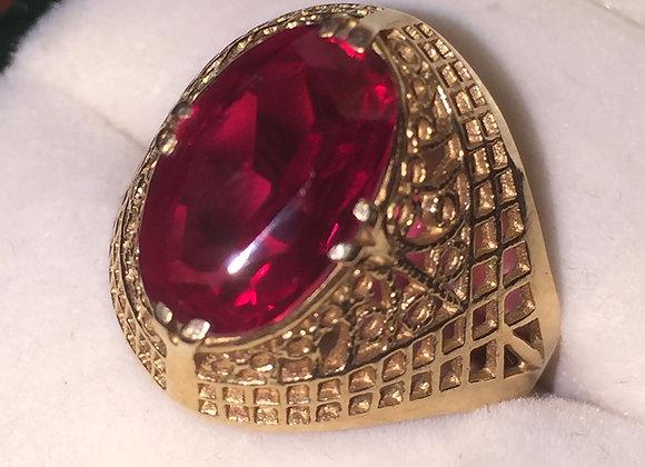 14K Rose Gold Russian Vintage Ring