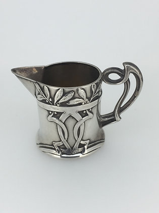 Art Nouveau Solid Silver jug