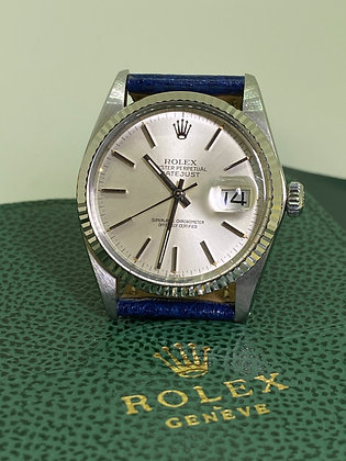 Rolex DateJust S/Steel & White Gold ref 16000, T Swiss T, cal 3035 Watch