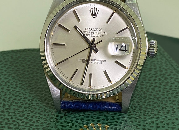 Rolex DateJust S/Steel & White Gold ref 16000, T Swiss T, cal 3035 Watch