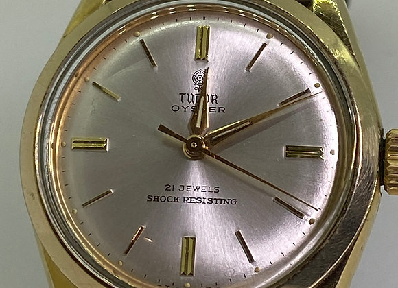 Rolex Tudor Oyster Automatic 21 jewels Shock-Resistant Gold-Plated Gents' Watch