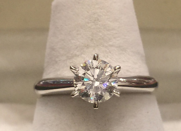 1.00ct Diamond Ring by Rosendorff with GIA