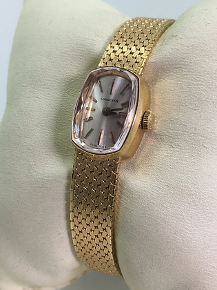 18K Yellow Gold Longines ref 7468 1 Ellipse Ladies' Dress Watch