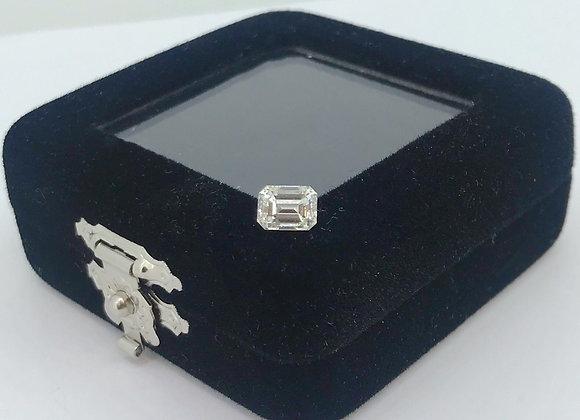 1.03ct Loose Emerald Cut Natural Diamond