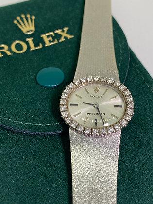 Rolex ref 2653 18K Gold-Plated S/Steel Diamond Cocktail Ladies' Watch