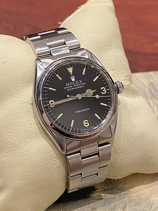 Rare Rolex Explorer Ref 5500, cal 1530 Automatic S/Steel Watch