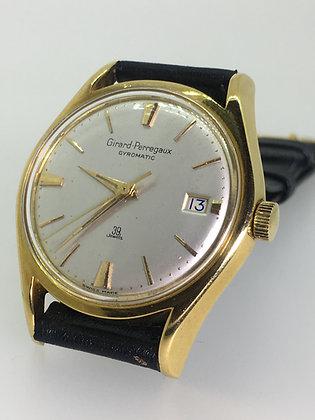 18ct Gold Girard-Perregaux Gyromatic 39 Jewels Mens' Watch