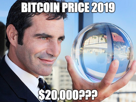 Bitcoin Price Prediction for 2019 – Will BTC hit all time high of $20k