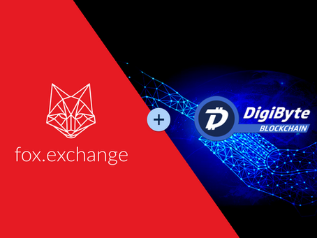 Introducing DGB cryptocurrency on fox.exchange!