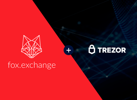 Trade with fox.exchange directly from your Trezor wallet