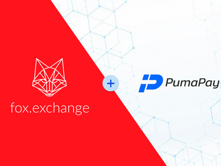 Fox is now integrated into the PumaPay's cryptocurrency wallet app, allowing its users to instantly