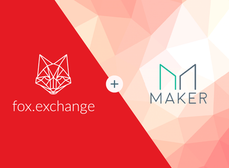 MakerDAO Coin is Now Listed on fox.exchange!
