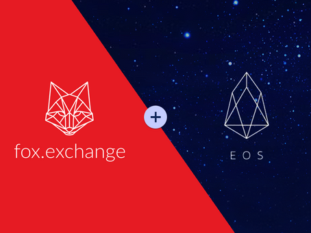 Introducing EOS cryptocurrency on fox.exchange!