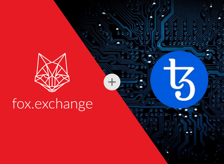 Now listed on fox.exchange! Introducing the World's 1st Self-Evolving Blockchain: Tezos (XTZ)