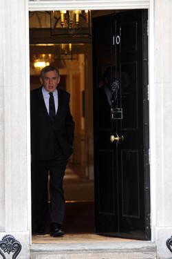 Gordon Brown Downing Street