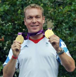 Sir Chris Hoy Olympics 2012