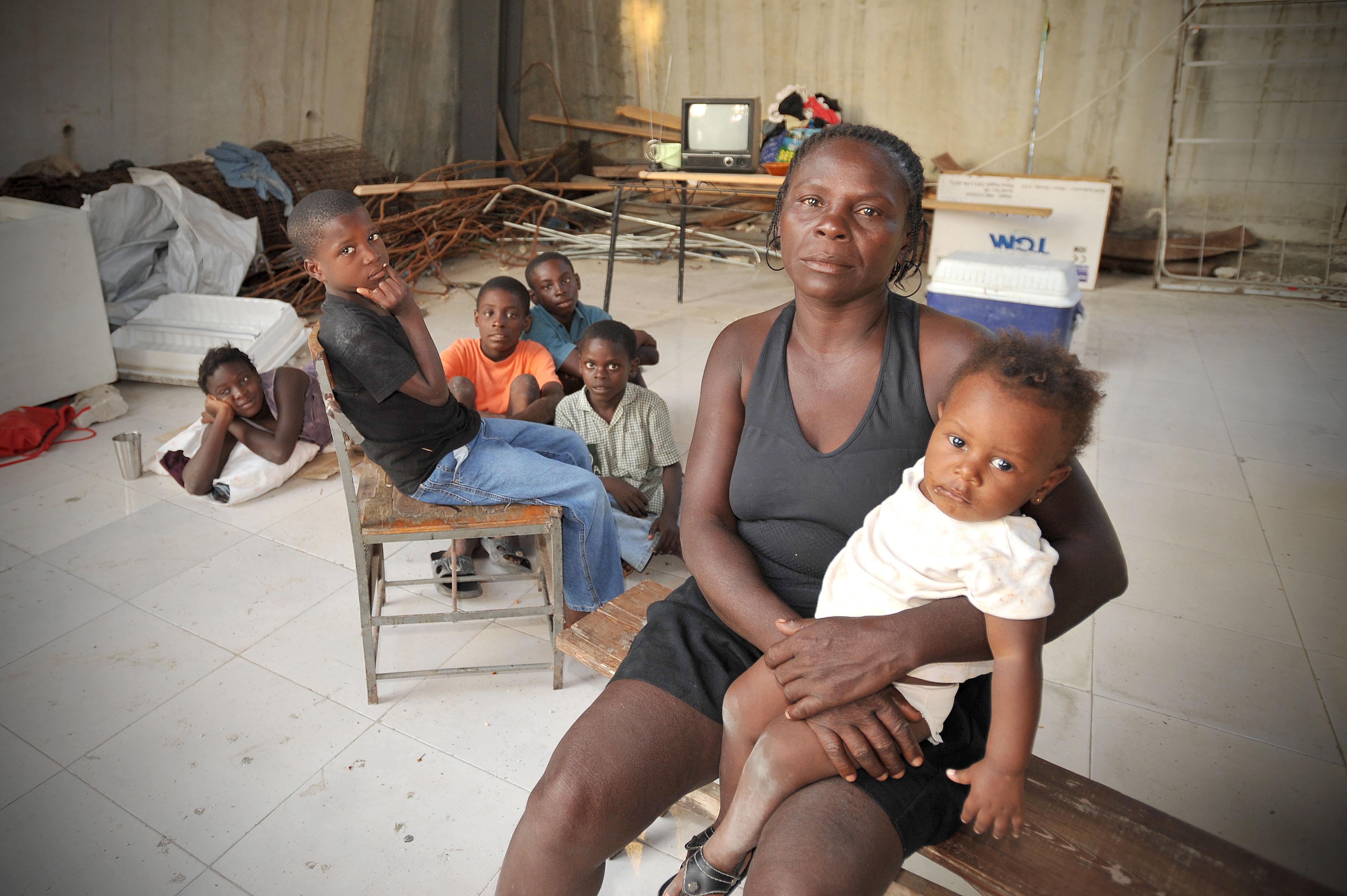 Haitian Family