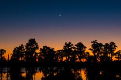 Lake Dixie sunset
