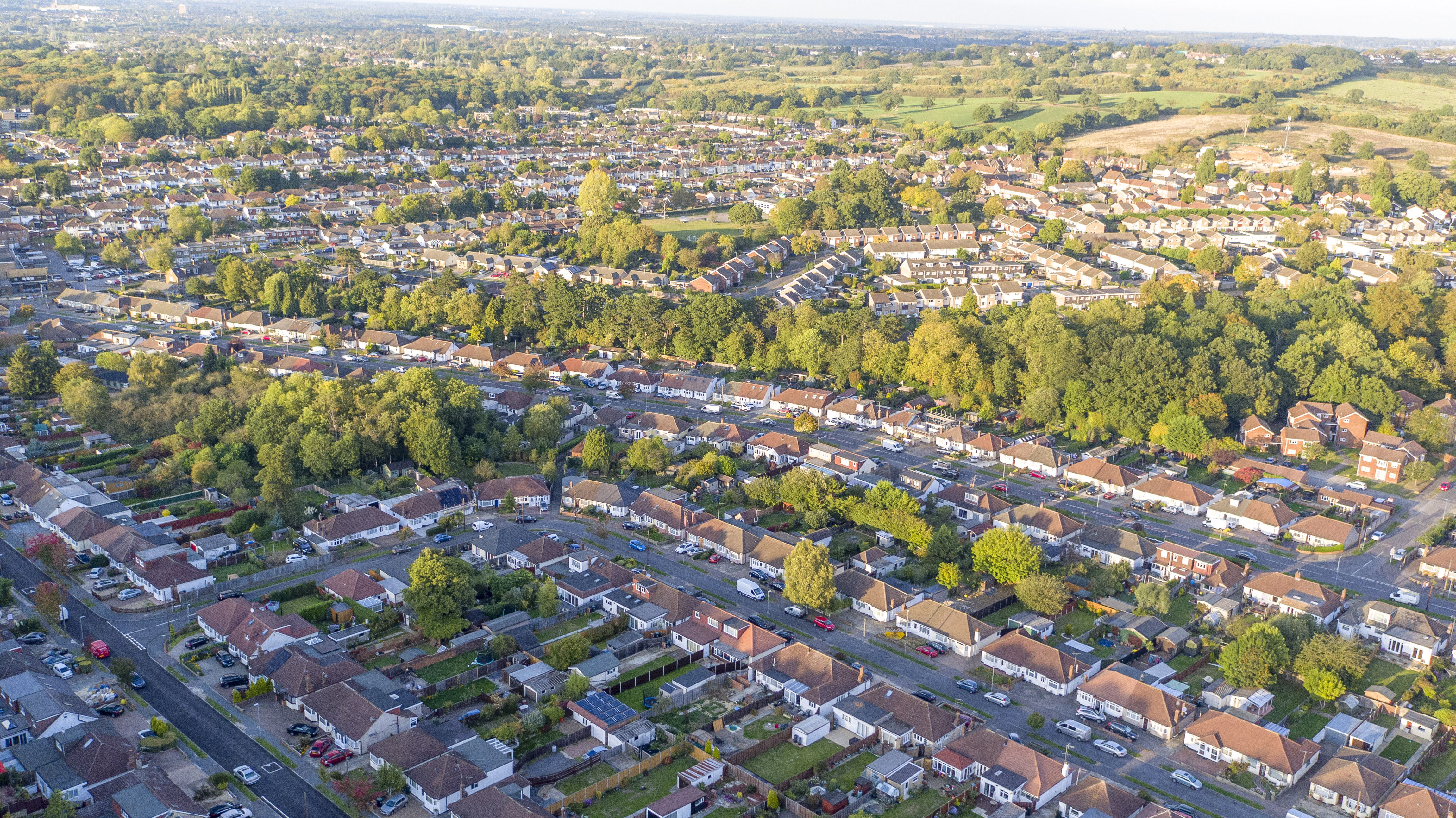 Estate Agents Aerial Photo