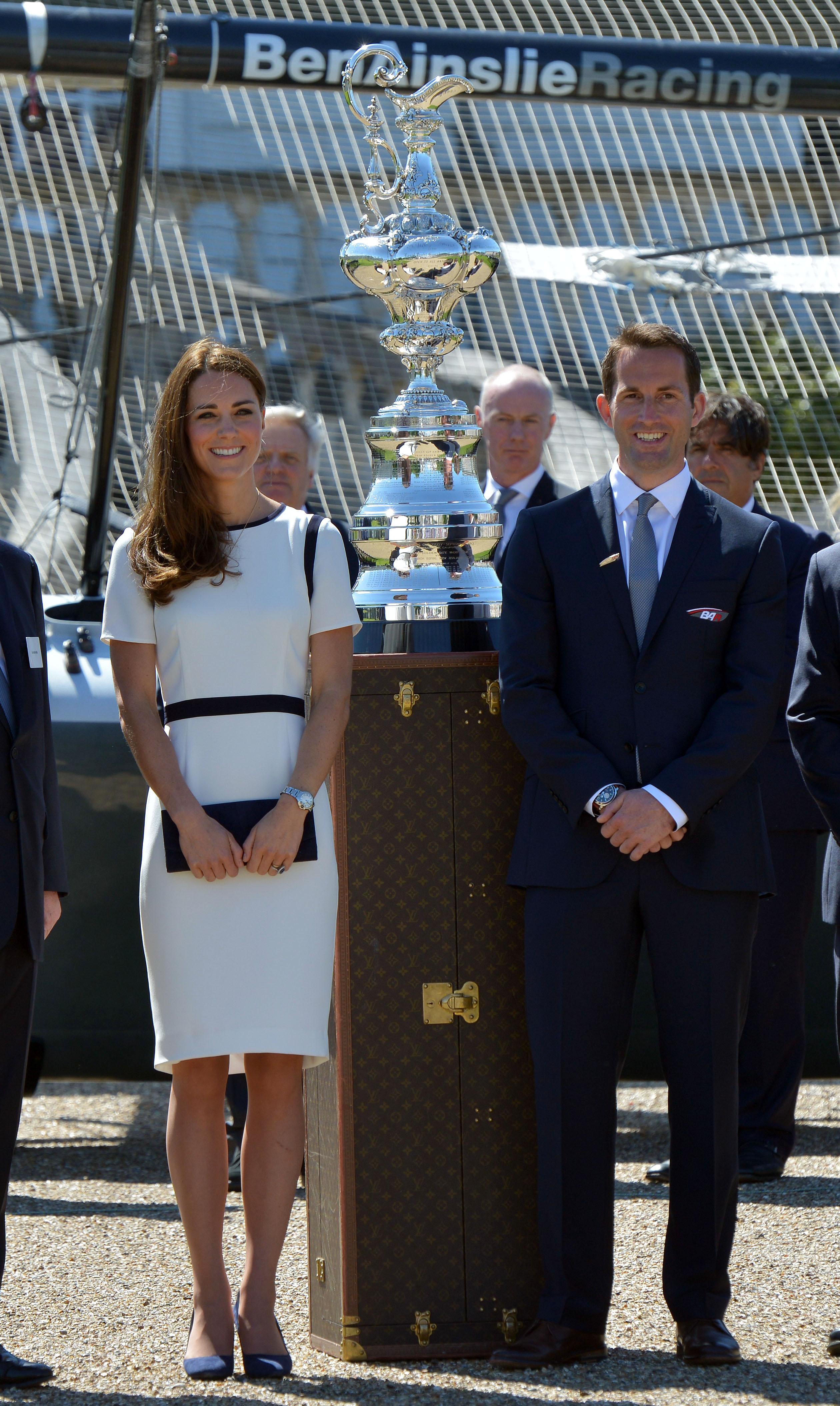 Duchess of Cambridge and Ben ainslie