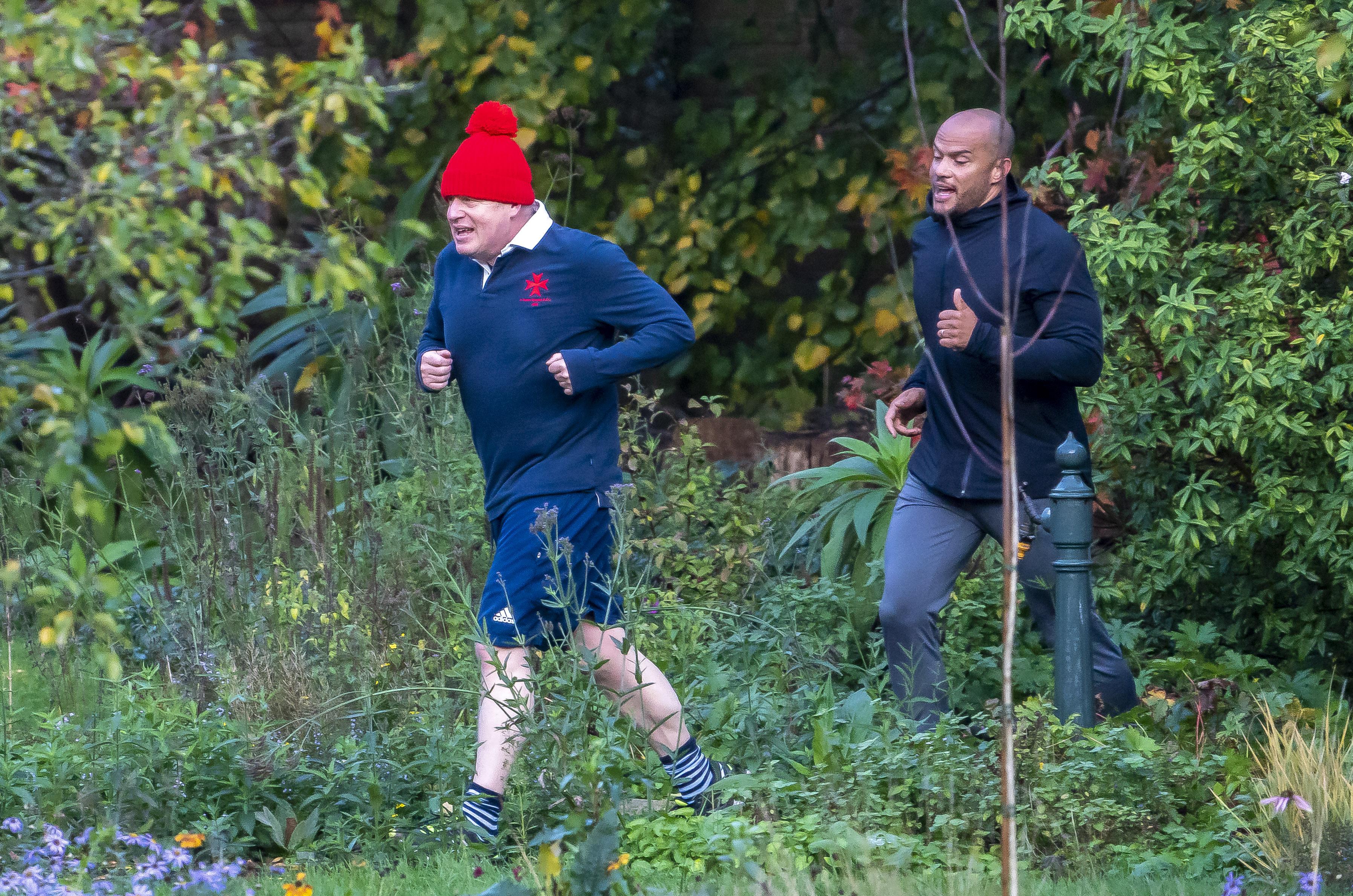 Boris Johnson running