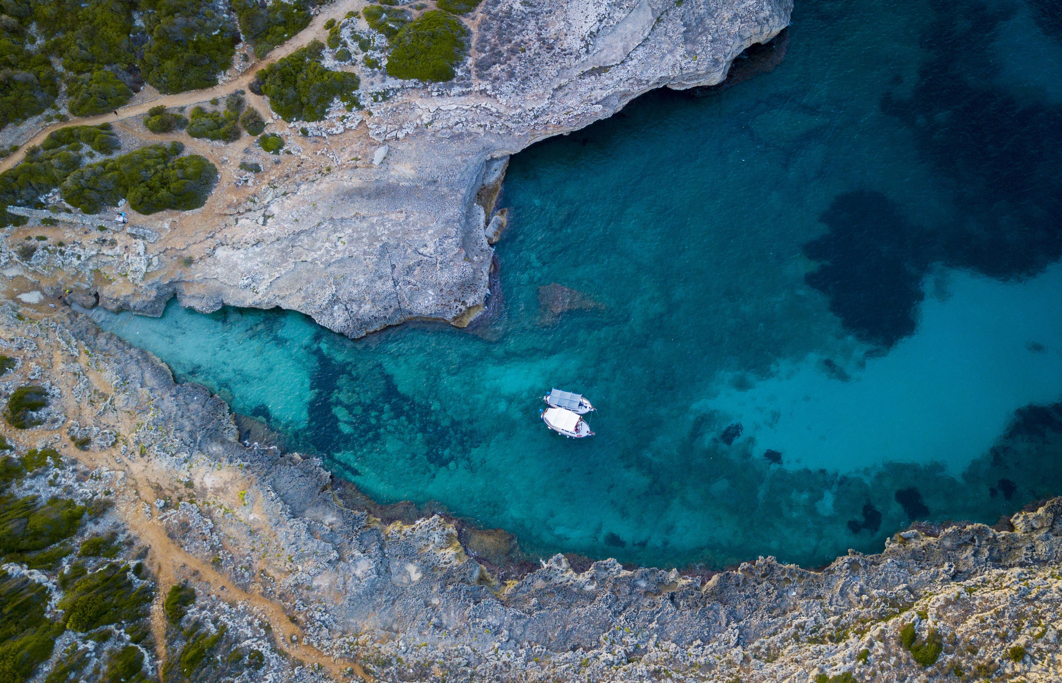 Boats In a Cove