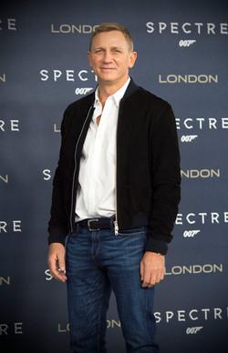 Daniel Craig Spectre Photocall