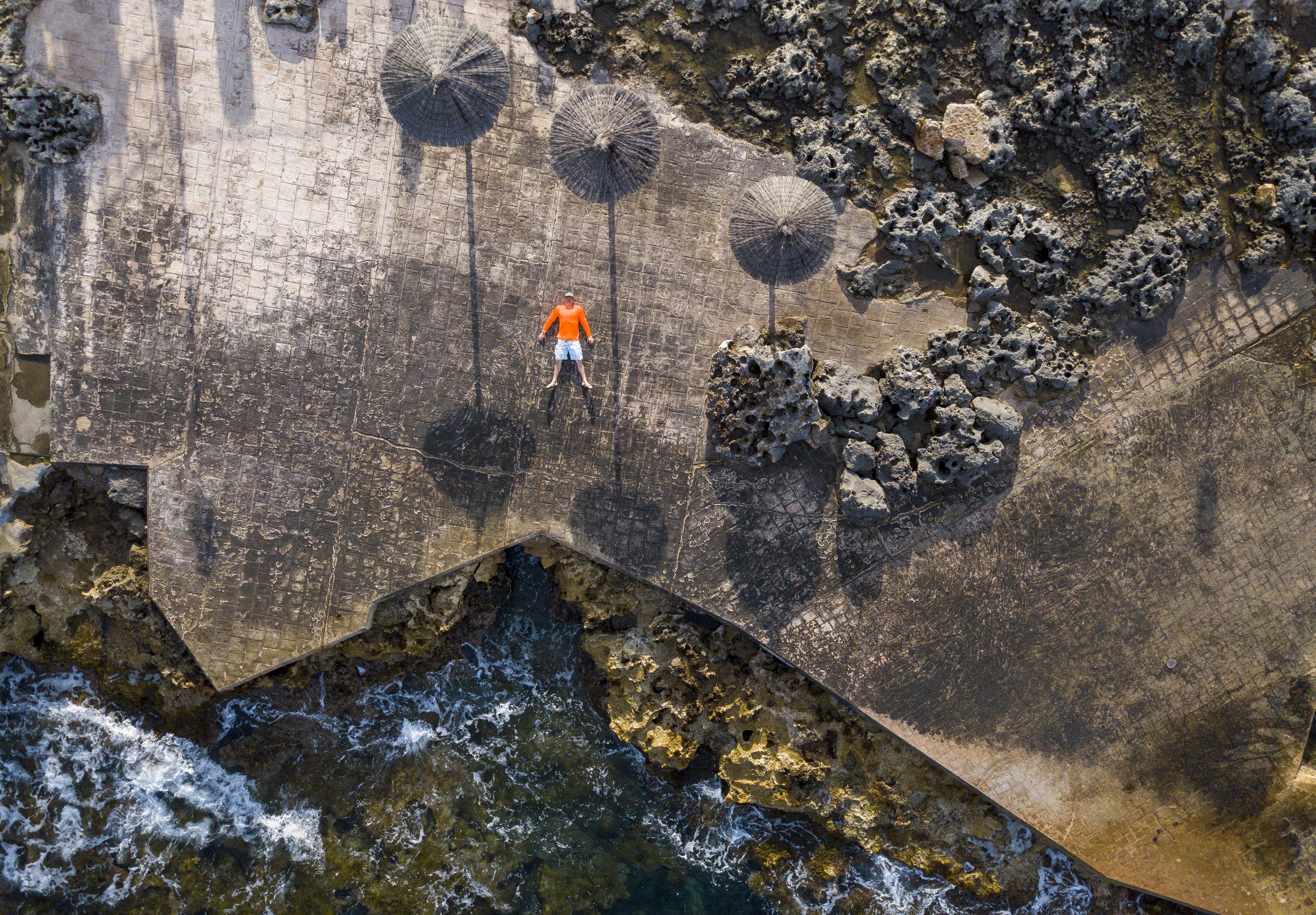 Drone scene