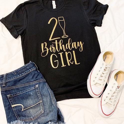 21 Birthday Girl