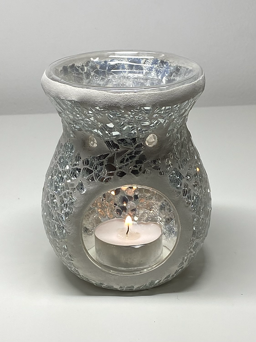 Glass Crackle Burners