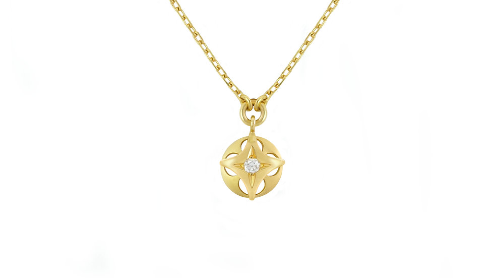 Queen of Diamonds_small Sooting Star Pendant