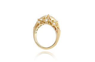 Queen of Diamonds Brave Ring