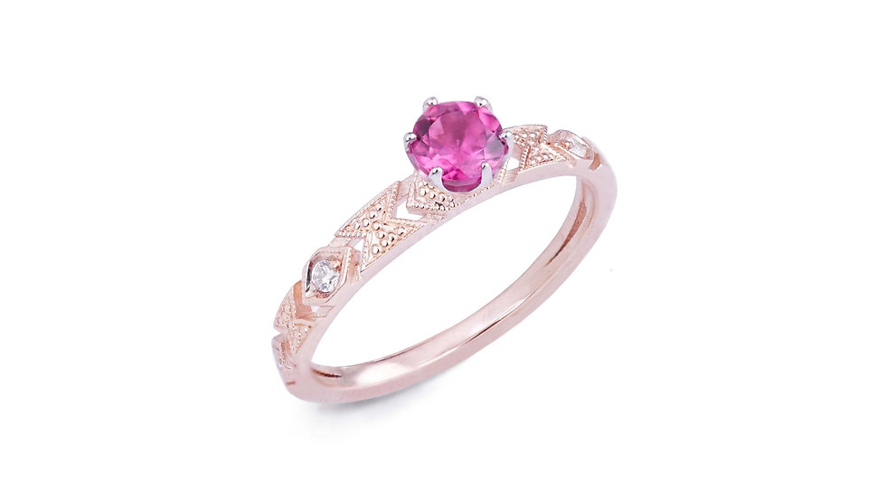 Delicacy Ring_Baby Tourmaline