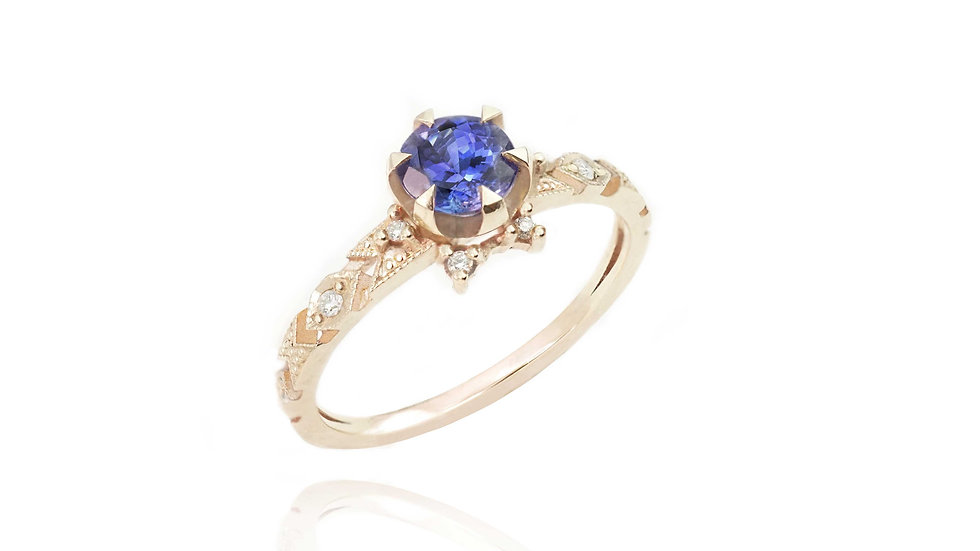 Delicacy Ring_Baby Tanzanite