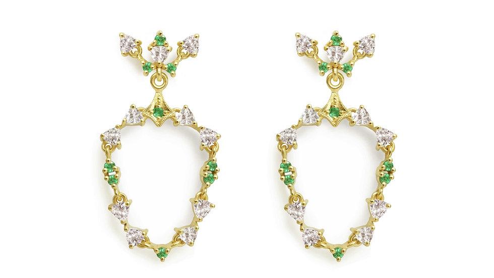 Midsummer Night Dream earrings_long