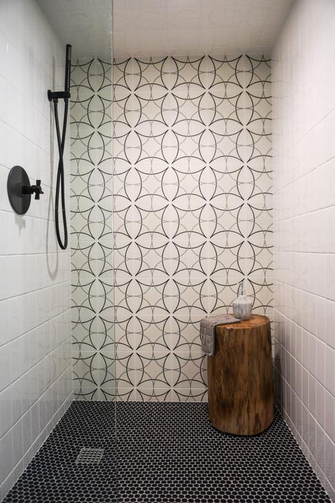 Cottage Shower Remodel